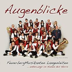 CD Augenblicke Feuerbergmusikanten Langenleiten