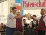 Bieranstich Feuerbergmusikanten Langenleiten
