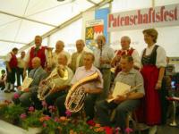 Ehrungen Feuerbergmusikanten Langenleiten