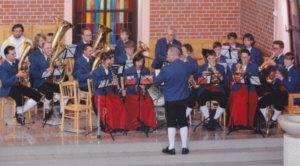 Konzert der Feuerbergmusikanten in Polen
