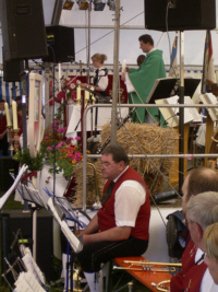 Gottesdienst Feuerbergmusikanten Langenleiten
