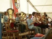 Jungmusiker der Feuerbergmusikanten Langenleiten