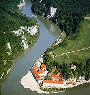 Kloster Weltenburg mit Klosterschenke