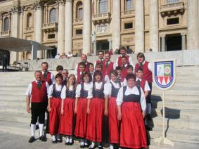 Pilgerfahrt der Feuerbergmusikanten nach Rom